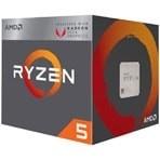 Processador AMD Ryzen 5 2400G YD2400C5FBBOX - Cache 6MB, 3.6GHz (3.9GHz Max Turbo), Gráficos Radeon RX Vega 11 - Socket AM4