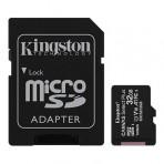 Cartão de Memória Kingston Canvas Select Plus - Classe 10 - SDCS2-32GB - Micro SDHC 32GB com Adaptador SD