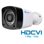 """Câmera Greatek Externa HDCVI para Segurança Eletrônica com Infra-Vermelho 1/4"""" HDCVI Digital - 1.0 Mega Pixel 720p"""