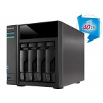 NAS Asustor AS6104T - 4 Baias (Sem disco) - Intel Dual Core J3060 1,6GHZ 2GB DDR3