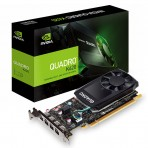 Placa de Vídeo Quadro PNY P620 - 2GB DDR5 128 bits - PCI Express 3.0 - Low Profile