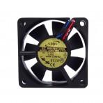 Ventilador Berflo - 60x60x25mm - Preto