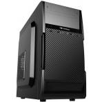 Gabinete C3 Tech Micro ATX - MT-25V2BK - Preto - Com fonte 200W