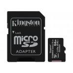 Cartão de Memória Kingston Canvas Select Plus - Classe 10 - SDCS2-64GB - Micro SDXC 64GB com Adaptador SD