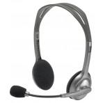 Fones de ouvido Headset Logitech Stereo Headset H110