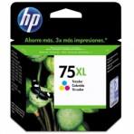 Cartucho colorido de impressão Inkjet tricolor HP 75XL (CB338WB)