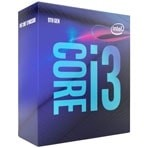Processador Intel Core i3-9100 BX80684I39100 - Coffee Lake, Cache 6MB, 3.6GHz (4.2GHz Max Turbo), UHD Graphics 630 - LGA 1151