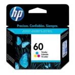 Cartucho colorido de impressão Inkjet tricolor HP 60 (CC643WB)