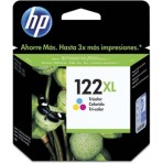 Cartucho colorido de impressão Inkjet tricolor HP 122XL (CH564HB)
