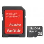 Memória Sandisk MicroSD - 8GB