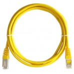 Patch Cord CAT5e Amarelo - 1.5 Metros