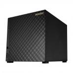 NAS Asustor AS3104T8000 - 4 Baias (com disco 1x8TB) - Celeron Dual Core 1,6 GHz - 2GB DDR3L - Gigabit Ethernet