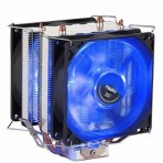 Cooler Universal Azul Fan Duplo - Para processador Intel e AMD - DX 9100D