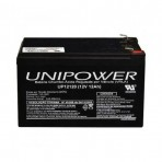Bateria selada Unipower - UP12120 - 12V 12Ah - F250