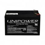 Bateria selada Unipower - UP12120 - 12V 12Ah - F250
