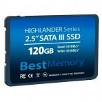 SSD 2.5'' 120GB Best Memory BTSDA-120G-535 - Leituras 535 MB/s - Gravações 435 MB/s - SATA 6Gb/s