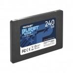 SSD 2.5'' 240GB Burst Elite Patriot PBE240GS25SSDR - Leituras 450 MB/s - Gravações 320 MB/s - SATA 6Gb/s