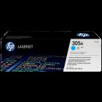 Toner Preto HP LaserJet 305A (CE411A) - Ciano