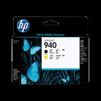 Cabeça de Impressão HP 940 (C4900A) - Preto e Amarelo
