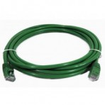 Patch Cord Hi Top CAT5e Flex Verde - 1.5 Metros