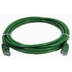 Patch Cord CAT6e Verde - 0.5 Metros