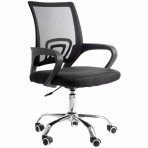 Cadeira de Escritório PCTop Home Office Fit 1001 - Preto - 0079459-01