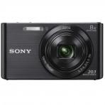 Câmera Digital Sony DSC-W830 - Preto - 20,1 MP Visor 2.7'' Filma em HD