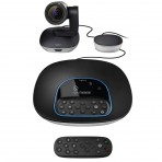 Câmera de Videoconferência Logitech Group - Full HD 1080p 30fps Viva voz Full Duplex - 960-001054