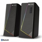 Caixa de Som Gamer 2.0 Blast Vinik - CXBLRGB10W - RGB LED - 10W - Bluetooth