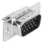 Conector para solda  VGA Macho DB15