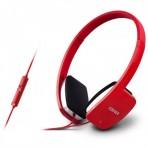 Fone de Ouvido com Microfone K680 Edifier - Vermelho