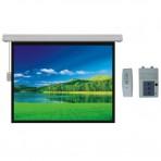 """Tela Elétrica Trace Board ES100V """"100"""" 204x153cm - 4:3 - 110V - Com controle remoto"""