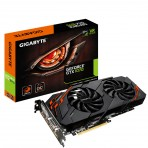 Placa de Vídeo Gigabyte - GV-N1070WF2OC-8GD REV2 - GeForce GTX 1070 WindForce - 8GB GDDR5 256 bit - PCI-Express 3.0