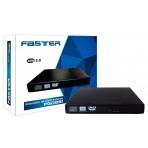 Gravador Externo de CD/DVD e Leitor de CD/DVD - Faster FGDE81