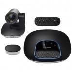 Câmera de Videoconferência Logitech Group 960-001054 - Full HD 1080p 30fps - Viva-voz Full-duplex