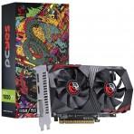 Placa de Vídeo PCYes Geforce GTX 1050 Ti PA1050TI12804G5DF - 4GB DDR5 128 bits - PCI-Express 3.0