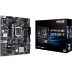 Placa Mãe Asus PRIME H510M-E - Chipset H510 - (DDR4, M.2, HDMI/DP/VGA, USB 3.2 Gen 1) - Soquete 1200