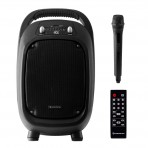 Caixa de Som Multiuso Portátil Hayonik GO!100 100W - Bluetooth / MicroSD / USB / FM - Com bateria