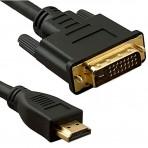 Cabo DVI para HDMI - 2 Metros