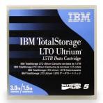 Fita de dados IBM 46X1290 LTO-5 Ultrium - 1500GB Nativo/3000GB Compactado