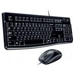 Teclado e Mouse com fio Logitech - MK120