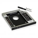 Adaptador Caddy para Segundo HD Knup KP-HD010 - 9,5 mm