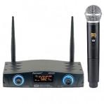 Microfone de Mão Sem Fio Karsect KRD200SM Single - UHF - 16 Frequências