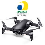 Drone DJI Mavic Air Fly More Combo - Preto Onyx - Homologado Anatel