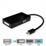 Adaptador 3x1 - Mini Displayport x Hdmi/dvi/vga
