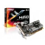 Placa de Vídeo MSI GeForce 210 - 1GB 64-bit GDDR3 - PCI Express 2.0 - Low Profile