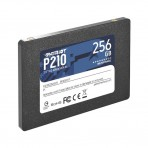 SSD 2.5'' 256GB P210 Patriot P210S256G25 - Leituras 500 MB/s - Gravações 400 MB/s - SATA 6Gb/s