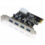 Placa Empire - PCI Express com 4 portas USB 3.0 - DP-43