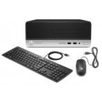 Computador HP ProDesk 400 G5 SFF 5LA53LA#AC4 - i3-8100 - 4GB DDR4 - 500GB HD - Windows 10 PRO