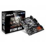 Placa Mãe ASRock H110M-HG4 - DDR4 (Som, Vídeo, Rede) - Soquete 1151